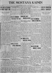 The Montana Kaimin, March 9, 1923