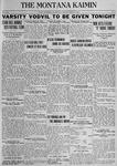 The Montana Kaimin, March 15, 1923
