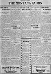 The Montana Kaimin, March 20, 1923