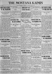 The Montana Kaimin, April 24, 1923