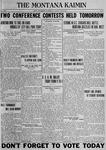 The Montana Kaimin, May 18, 1923
