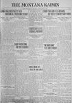 The Montana Kaimin, May 22, 1923