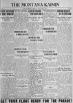 The Montana Kaimin, May 25, 1923