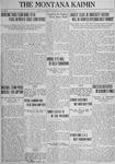 The Montana Kaimin, June 5, 1923