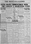 The Montana Kaimin, June 8, 1923