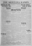 The Montana Kaimin, October 19, 1923
