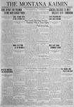 The Montana Kaimin, October 26, 1923
