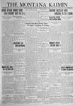 The Montana Kaimin, October 30, 1923