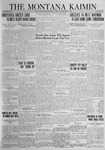 The Montana Kaimin, November 2, 1923