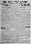 The Montana Kaimin, November 9, 1923