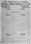 The Montana Kaimin, November 16, 1923