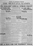 The Montana Kaimin, January 8, 1924