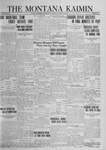 The Montana Kaimin, January 15, 1924