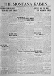 The Montana Kaimin, January 18, 1924