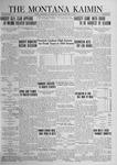 The Montana Kaimin, February 22, 1924