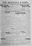 The Montana Kaimin, February 29, 1924