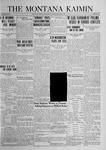 The Montana Kaimin, March 7, 1924