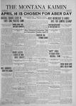 The Montana Kaimin, April 8, 1924