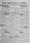 The Montana Kaimin, April 11, 1924