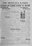 The Montana Kaimin, April 16, 1924