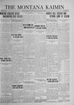 The Montana Kaimin, April 22, 1924