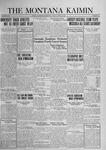 The Montana Kaimin, April 25, 1924