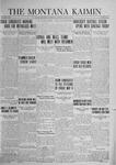 The Montana Kaimin, April 29, 1924