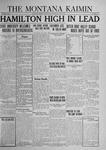The Montana Kaimin, May 8, 1924