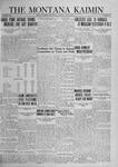 The Montana Kaimin, May 13, 1924