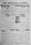 The Montana Kaimin, May 20, 1924