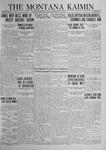 The Montana Kaimin, May 23, 1924