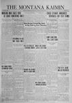 The Montana Kaimin, June 3, 1924