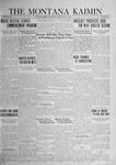 The Montana Kaimin, June 6, 1924