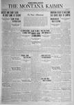 The Montana Kaimin, October 3, 1924