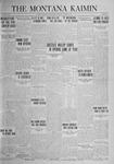 The Montana Kaimin, October 7, 1924