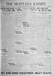 The Montana Kaimin, October 10, 1924