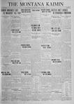 The Montana Kaimin, October 17, 1924