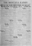 The Montana Kaimin, October 24, 1924