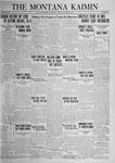 The Montana Kaimin, October 28, 1924