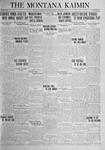 The Montana Kaimin, October 31, 1924