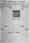 The Montana Kaimin, November 4, 1924