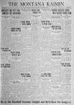 The Montana Kaimin, November 7, 1924