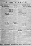 The Montana Kaimin, November 14, 1924