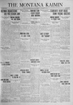 The Montana Kaimin, November 18, 1924