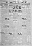 The Montana Kaimin, November 21, 1924