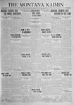 The Montana Kaimin, November 25, 1924