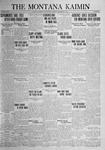 The Montana Kaimin, December 9, 1924