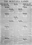 The Montana Kaimin, January 9, 1925
