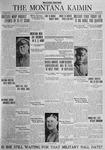 The Montana Kaimin, January 27, 1925