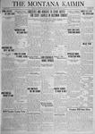 The Montana Kaimin, February 27, 1925